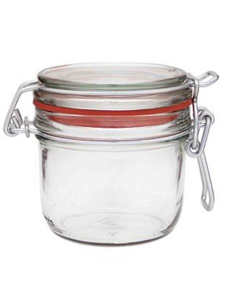6er Set - 255 ml Drahtbügelglas