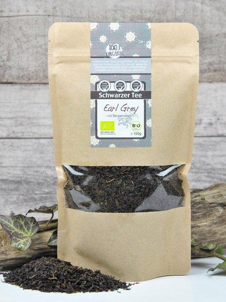 Schwarzer Tee - Bio Earl Grey