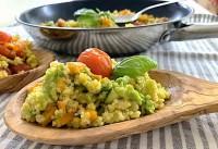 Gemüse-Hirse-Pfanne