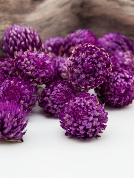 Bio Kugelamaranth - ganze getrocknete Blüten