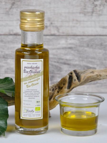 Griechisches Bio Olivenöl extra nativ - naturtrüb