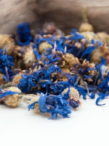 Blaue Bio Kornblumenblüten, getrocknete Essblüten
