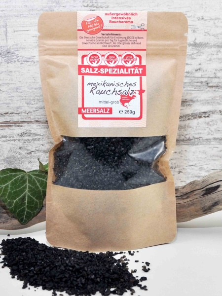Mexikanisches Rauchsalz - Appelwood Smoked Sea Salt