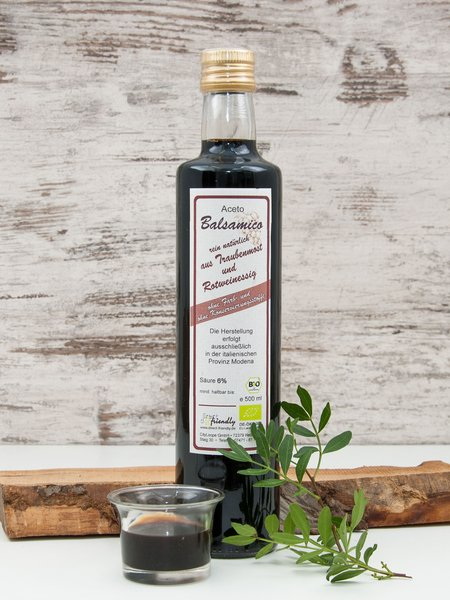 Bio Aceto Balsamico - dunkler Balsamico