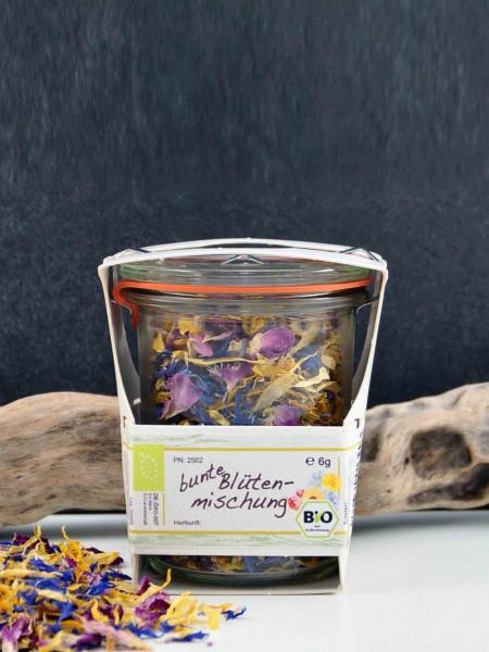 kleines Dankeschön - Bio Blüten im Weckglas
